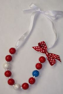 Gumball necklace #gumballs #diy
