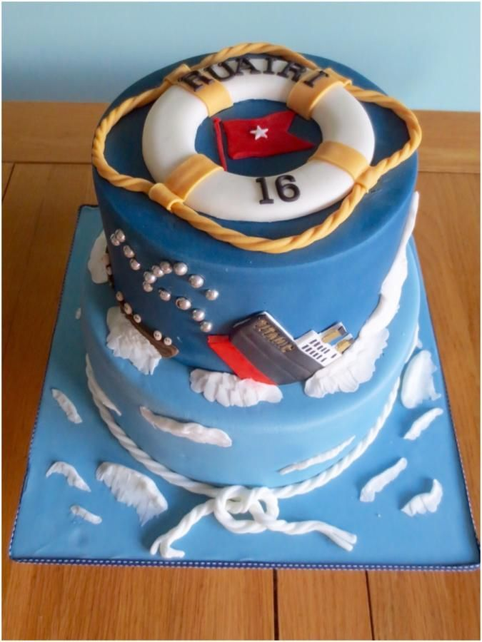 Sinking Of The Titanic Cake By Kizzy S Cakes