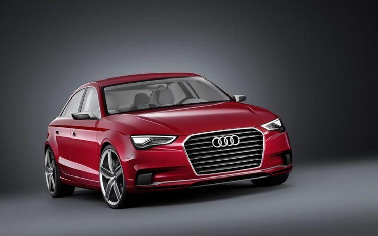 the Audi's new sedan A3 http://giornalemotori.it/70380/audi-a3-nasce-la-sedan/