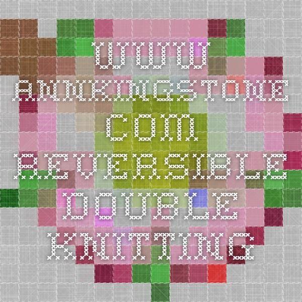 reversible double knitting