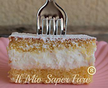 Torta Paradiso fatta in casa   Merendina soffice soffice