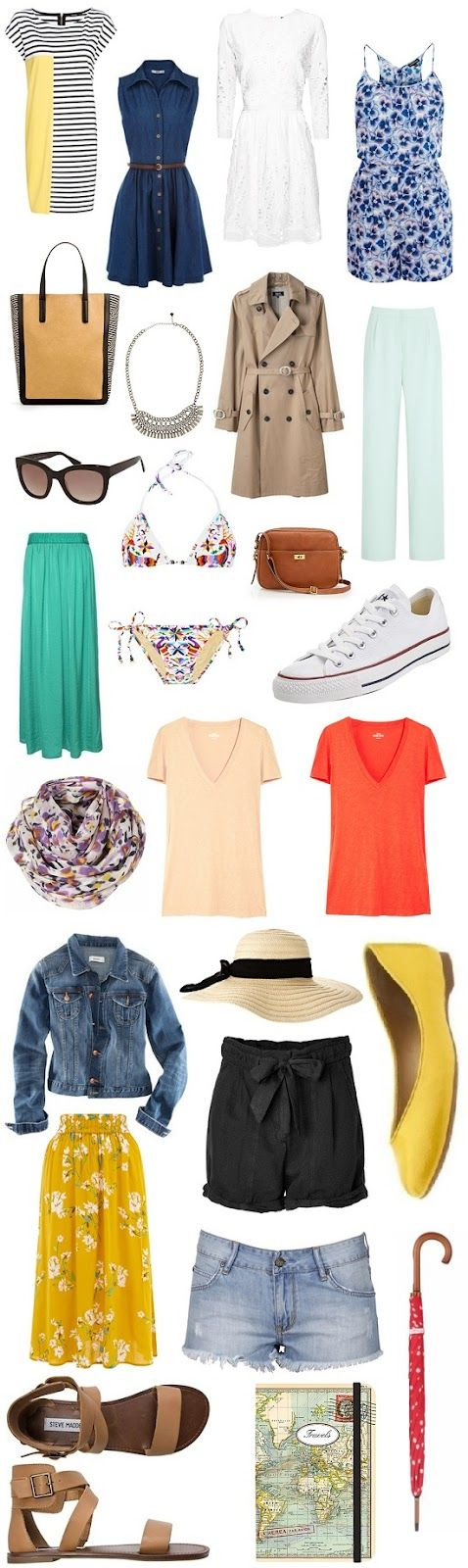 This practically sums up everything about my summer wardrobe, and these are perfect for traveling