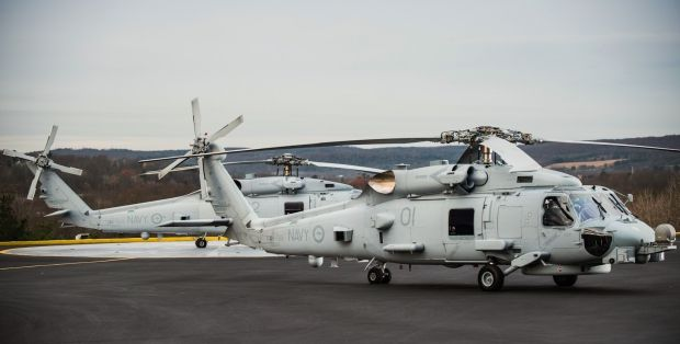 """Sikorsky (Lockheed-Martin) has delivered the last of 24 Sikorsky MH-60R """"Seahawk"""" (Romeo) for the Royal Australian Navy (RAN). Australian order dated to 2011 and has replaced the ageing fleet of S-70B. The MH-60R is mainly used in the RAN for anti-submarine warfare and anti-surface, but also for search and rescue and transport."""