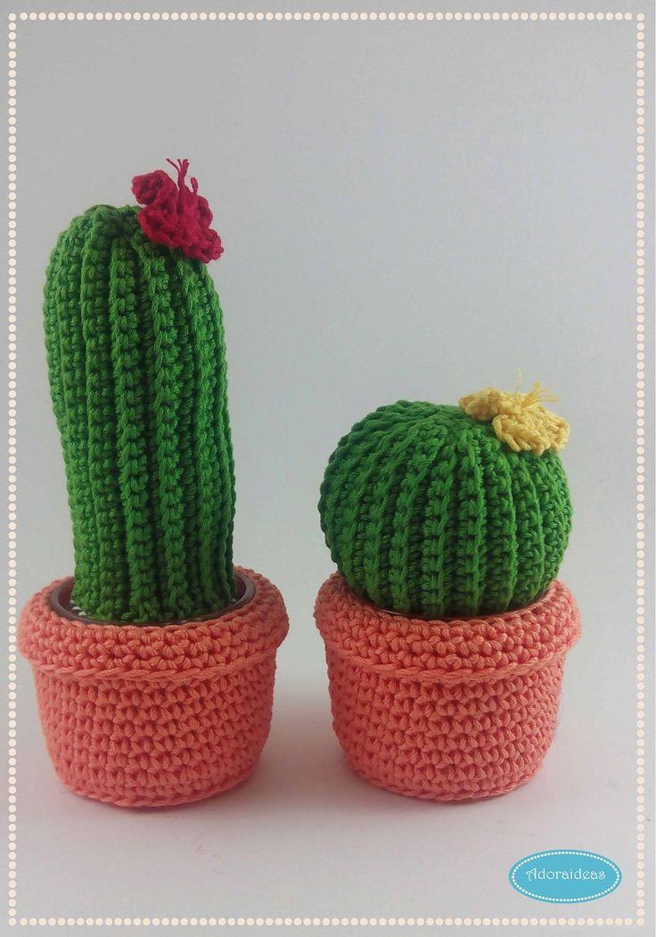 Cactus de ganchillo paso a paso mar vi blog patrones - Patrones de ganchillo ...