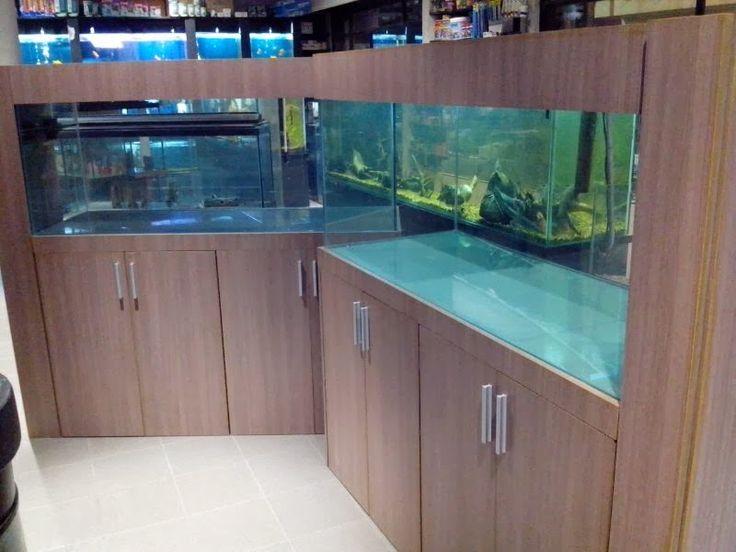Las 25 mejores ideas sobre muebles para peceras en for Mueble acuario