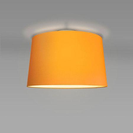 Plafon Ton 50 okrągły pomarańczowy