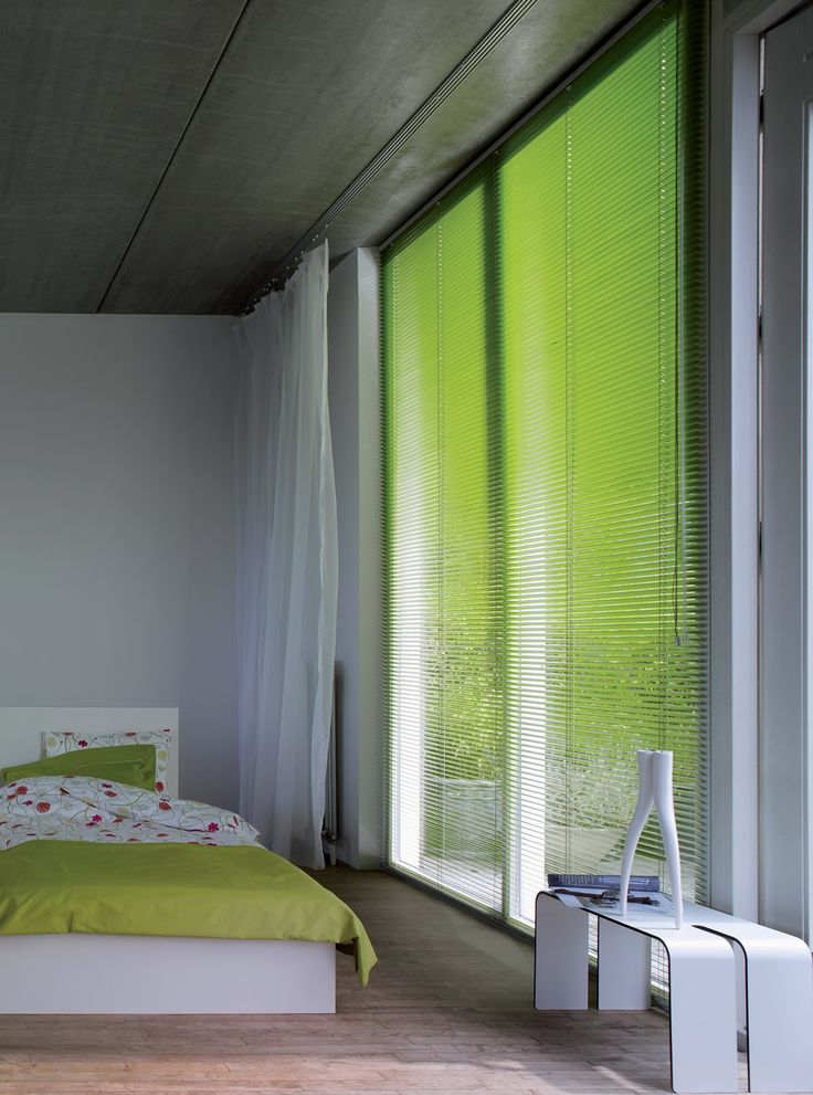 Apollo Lime Green Venetian Blind