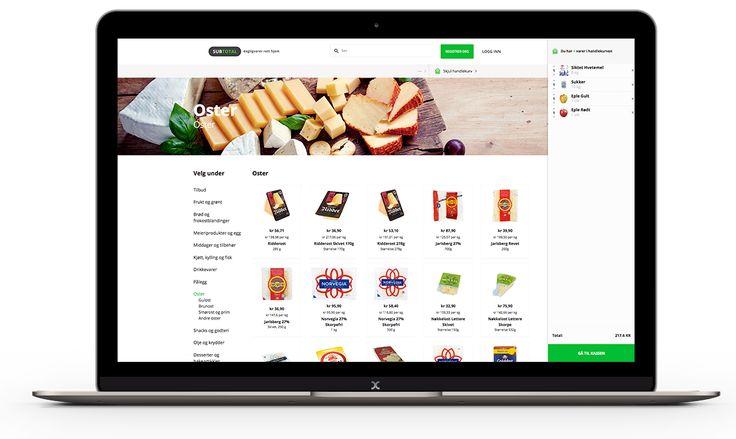 Subtotal er en matbutikk på nett, som leverer mat rett hjem på døren. DCode fra Drammen har levert Webdesign og Webutvikling til Subtotal.