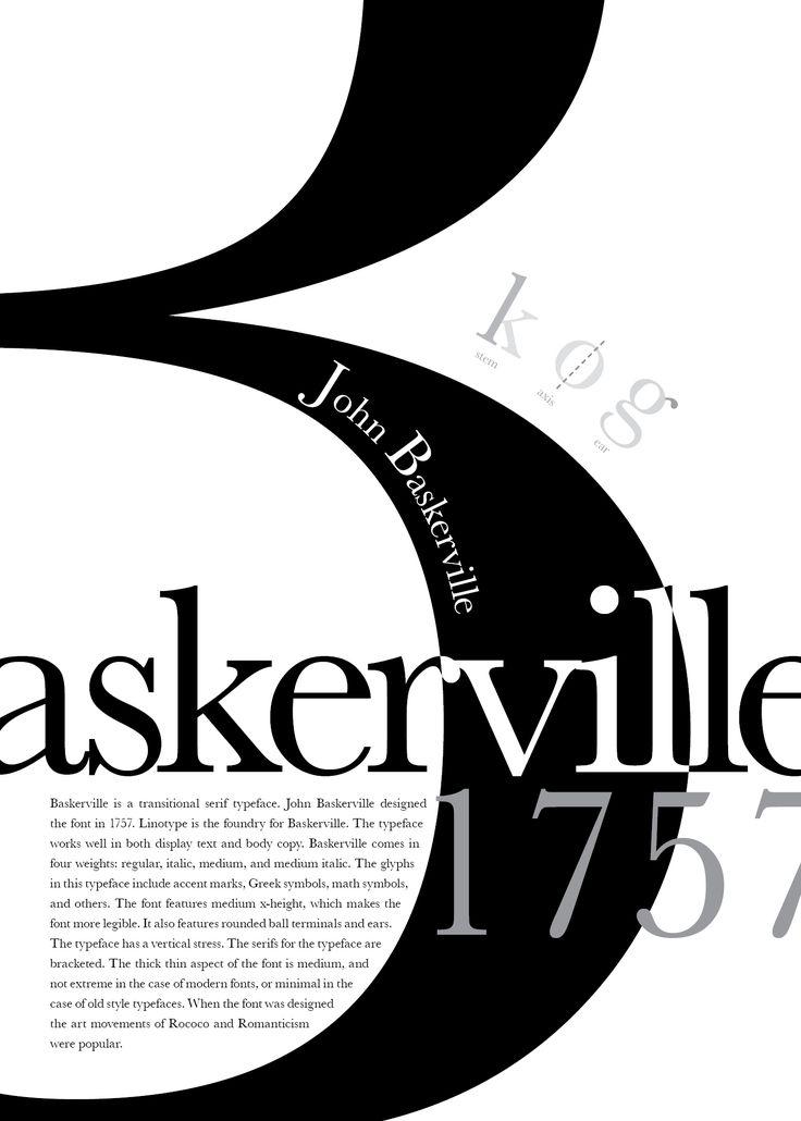 Images For > Baskerville Poster