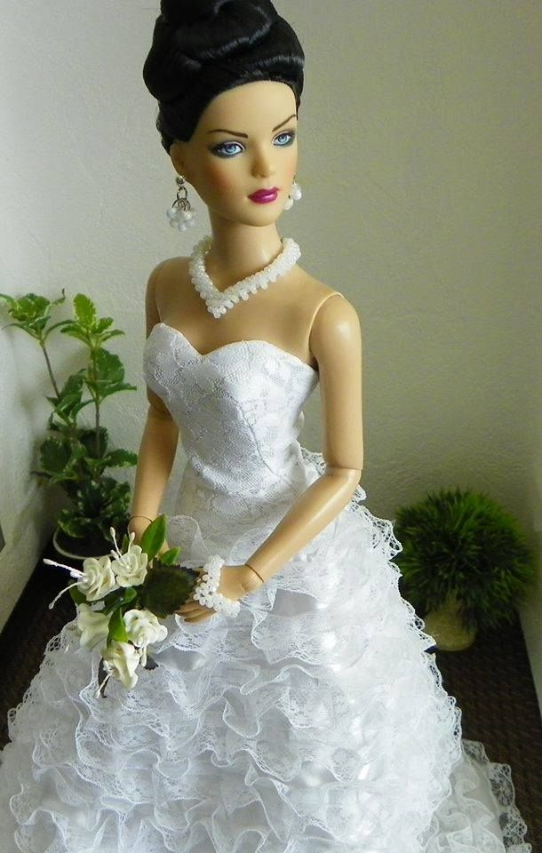 Barbie bridal gowns 1 2 qw barbie doll bridal gowns for Wedding dresses for barbie dolls