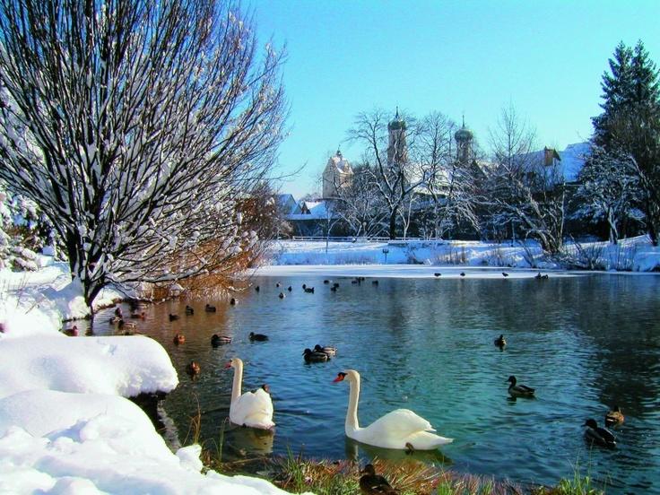 Isny, Allgäu #Bavaria #Snow