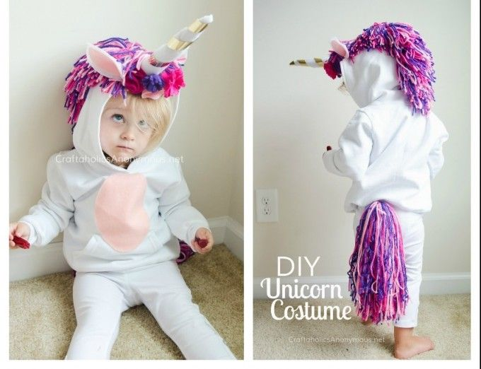 Best 25 unicorn costume for kids ideas on pinterest girl 21 creative and easy last minute halloween costumes for kids solutioingenieria Gallery