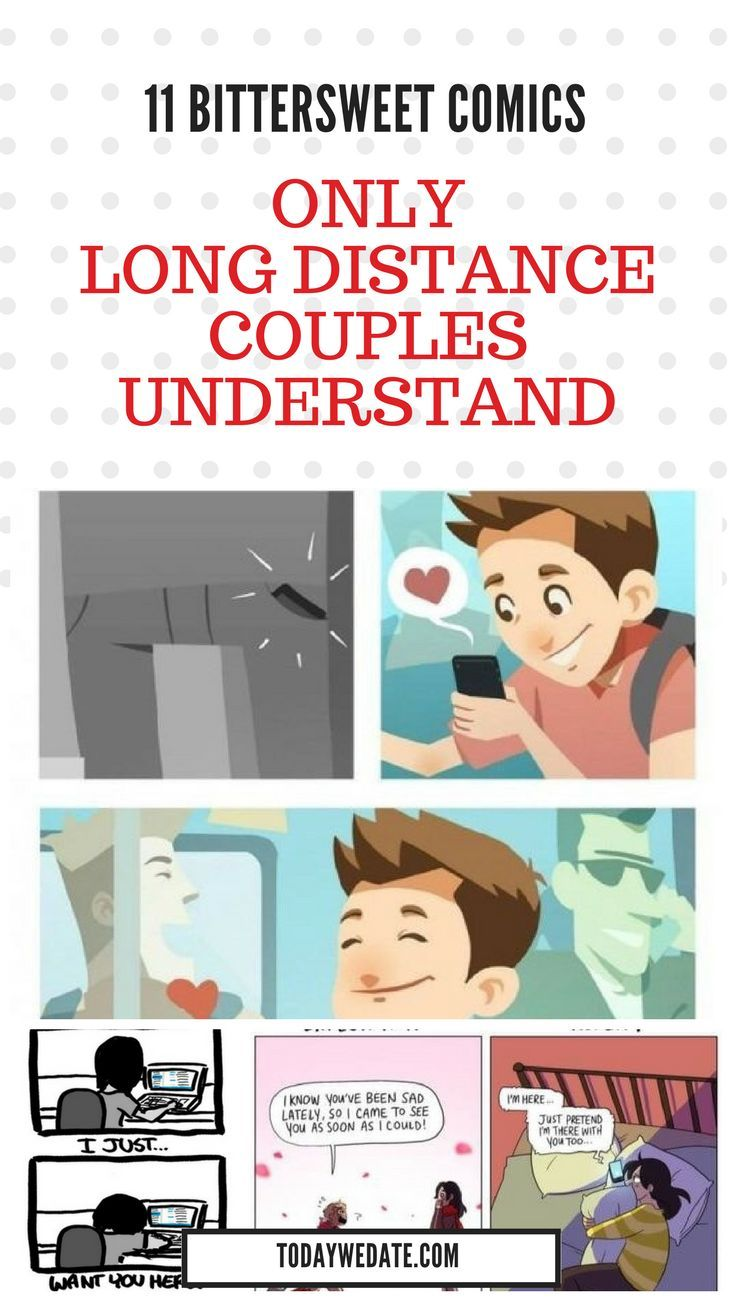 16 Bittersweet Comics Only Long Distance Couples Understand Long