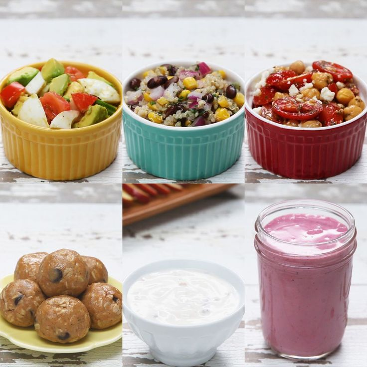 6 Easy High-protein Snacks by Tasty