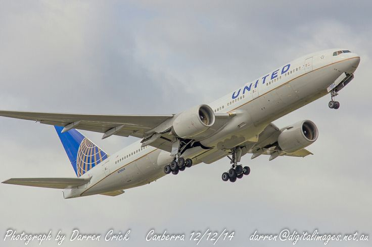 United 777 departing #Canberra Airport 12/12/14... #avgeek #aviation #photography #canon #cbr #spotter Canberra Airport Canon Australia