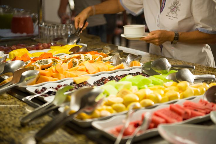 Taste the rainbow. The food options at Hyatt Ziva Cancun are endless!