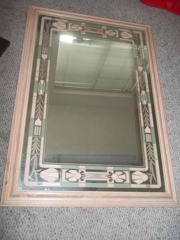 Large Southwestern mirror 9978