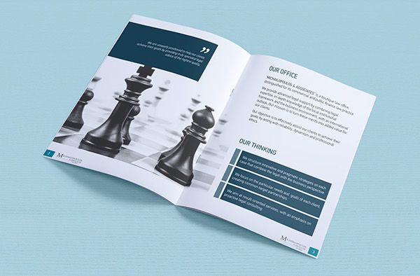 Law Firm corporate brochure