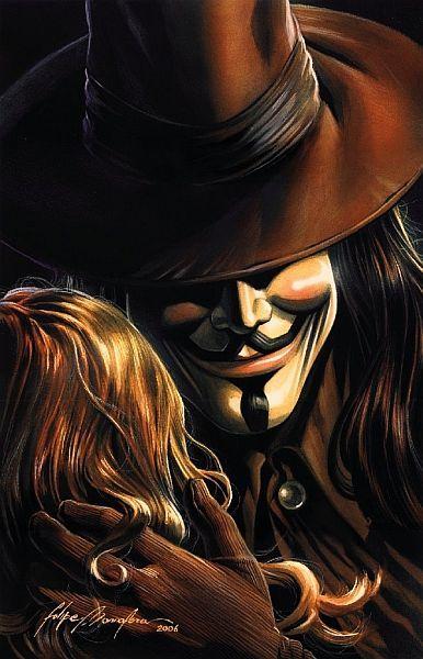 V for Vendetta by Felipe Massafera