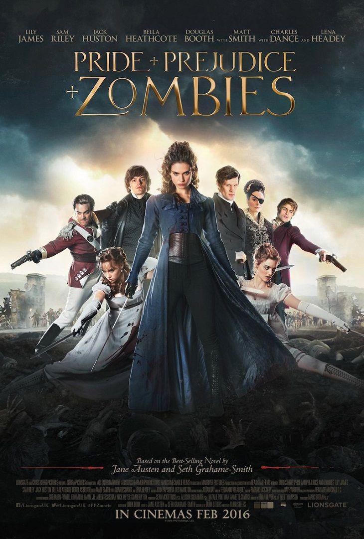 Nuevo tráiler y póster para 'Orgullo y prejuicio y zombies'.