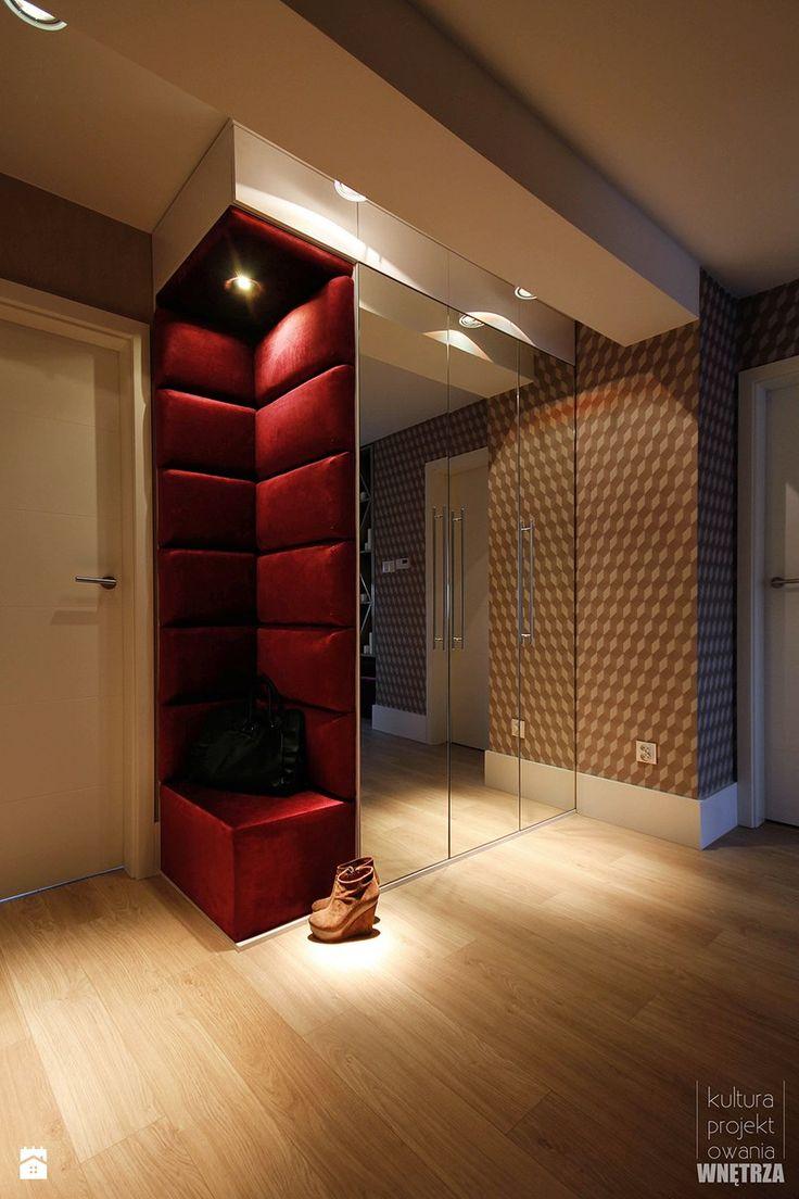 Mieszkanie w kamienicy - Hol / przedpokój, styl nowoczesny - zdjęcie od Kultura Projektowania Katarzyna Kucyga