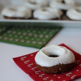 gingerbread doughnuts | Cupcakes & Doughnuts | Pinterest