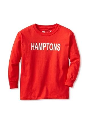 67% OFF Little Dilascia Kid's Hamptons Long Sleeve Tee (Red)
