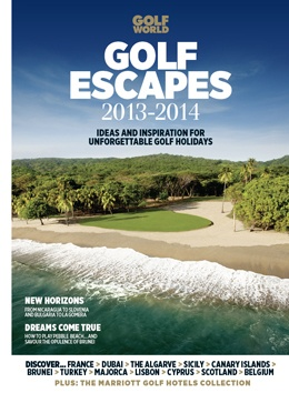 Golf Escapes 2013 | Todays Golfer - Portugal considered one of the Golf Escapes for the ideal golf breaks in 2013 By Golf World, April 2013   In the Golf World Continental Europe Top 100, the Algarve had six entries - the most of any region in Europe.  So while the Algarve may justifiably have a reputation as a fun, sun-drenched golf destination, it also needs to be known as a destination full of world-class quality courses.
