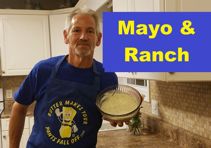 How to make your own healthy Mayonnaise and Ranch Dressing, with healthy oil, fresh herbs and no sugar added. Visit my website for the written version of thi...
