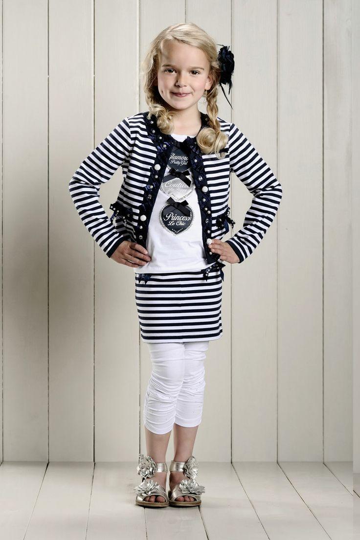 Meisjeskleding Le Chic colbert vest | fancy en trendy | www.kienk.nl