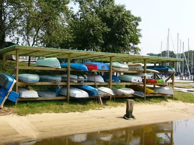 8 best images about Boat Rack Inspiration on Pinterest | Canoe or kayak, Kayak roof rack and Resorts
