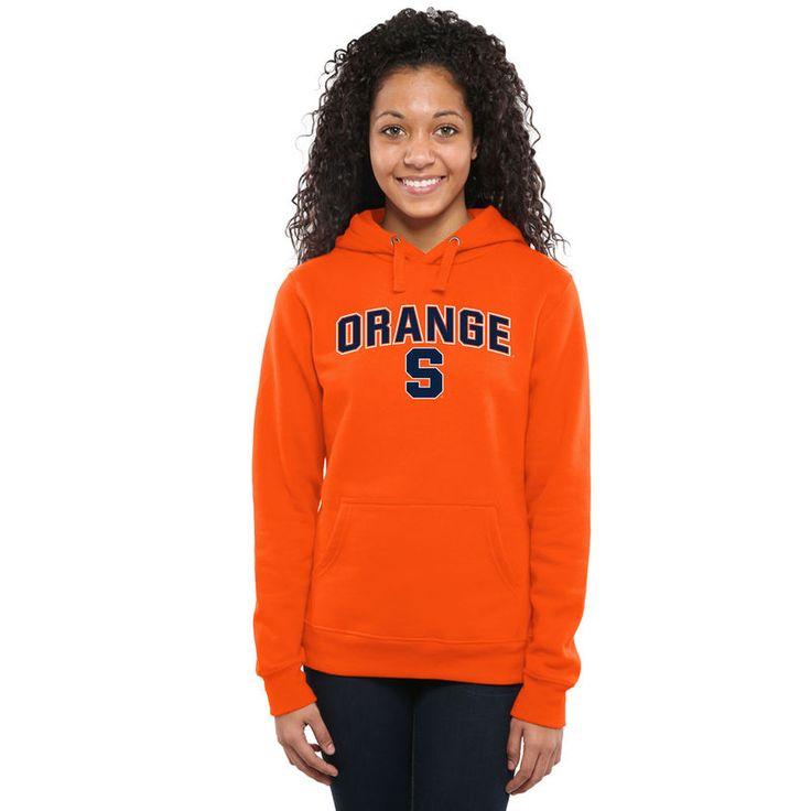Syracuse Orange Women's Proud Mascot Pullover Hoodie - Orange