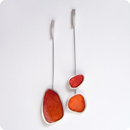 Silina Jewellery, mis-matched earrings