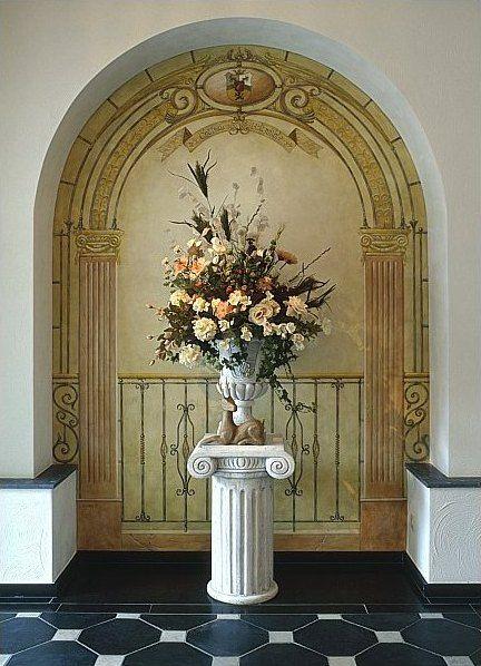 17 best images about trompe l 39 oeil on pinterest cool walls tahiti and - Trompe l oeil toilette ...
