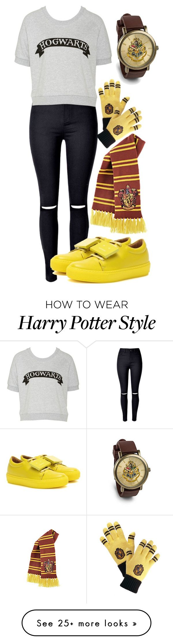 """Harry Potter geek girl"" by pauliendemil on Polyvore featuring Acne Studios"