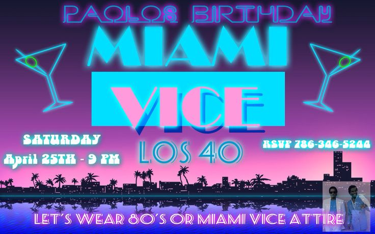 68 best images about Miami Vice Party on Pinterest | 80s ...