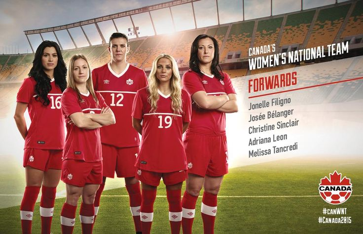 #FIFAWomensSoccer #Canada #CanWNT #CanadaRED #Canada2015 #CAN #FIFAWWC