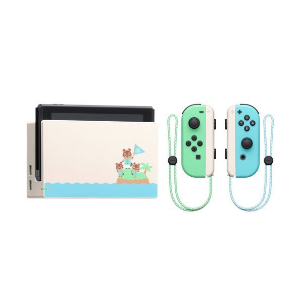 Nintendo Switch Animal Crossing New Horizon Special Edition In