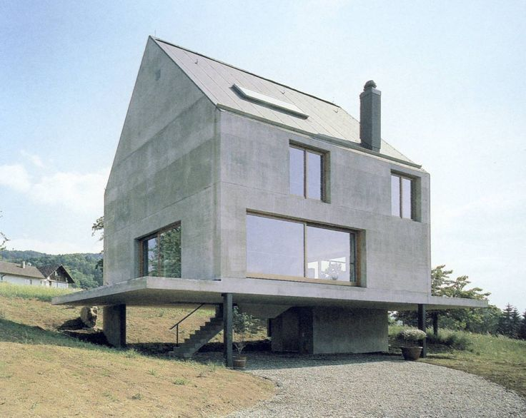 2. HERZOG&DE MAURON Rudin House 1997 Francja