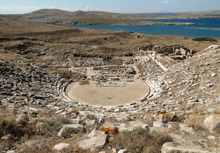 Ancient Theatre of Delos Opens After 2,000 Years of Silence