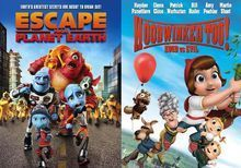 Escape From Planet Earth/Hoodwinked Too! Hood vs. Evil [2 Discs] [DVD]