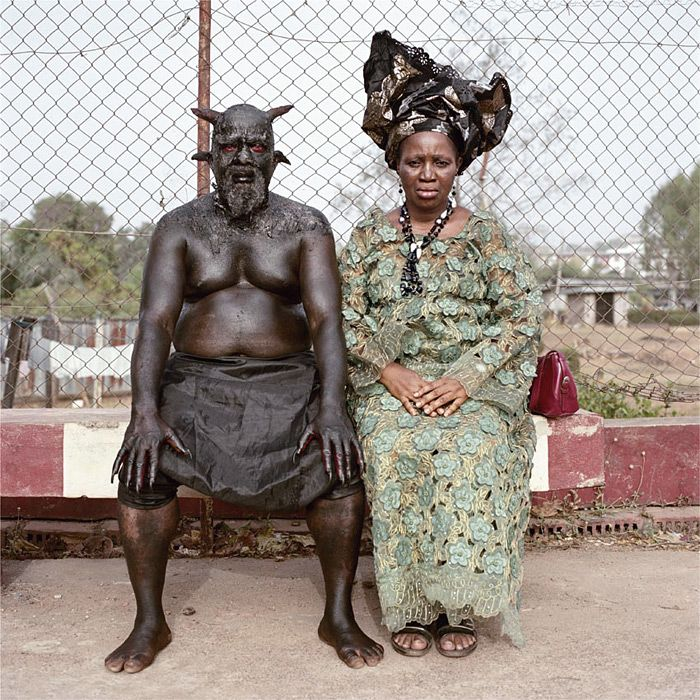 South African photographer Pieter Hugo's series The Hyena and Other Men, photographs of animal wranglers in Lagos, Nigeria have recieved 'va...