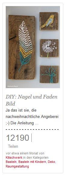 DIY: Mit Jungs basteln: Hämmern und anstreichen ;-)