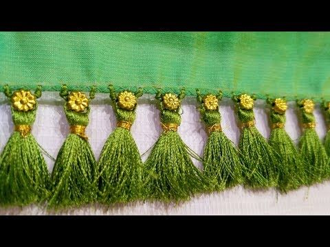 4d98a9db86 One Minute Baby Kuchu Using Beads I Latest Design of saree tassels I Ladies  Club - YouTube