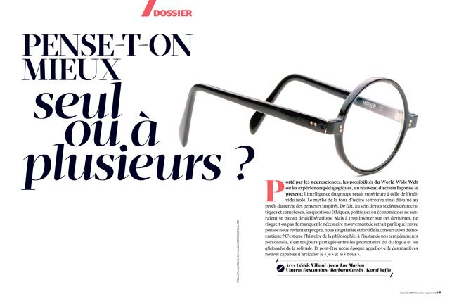 #philosophie magazine #graphic design #magazine #layout #print
