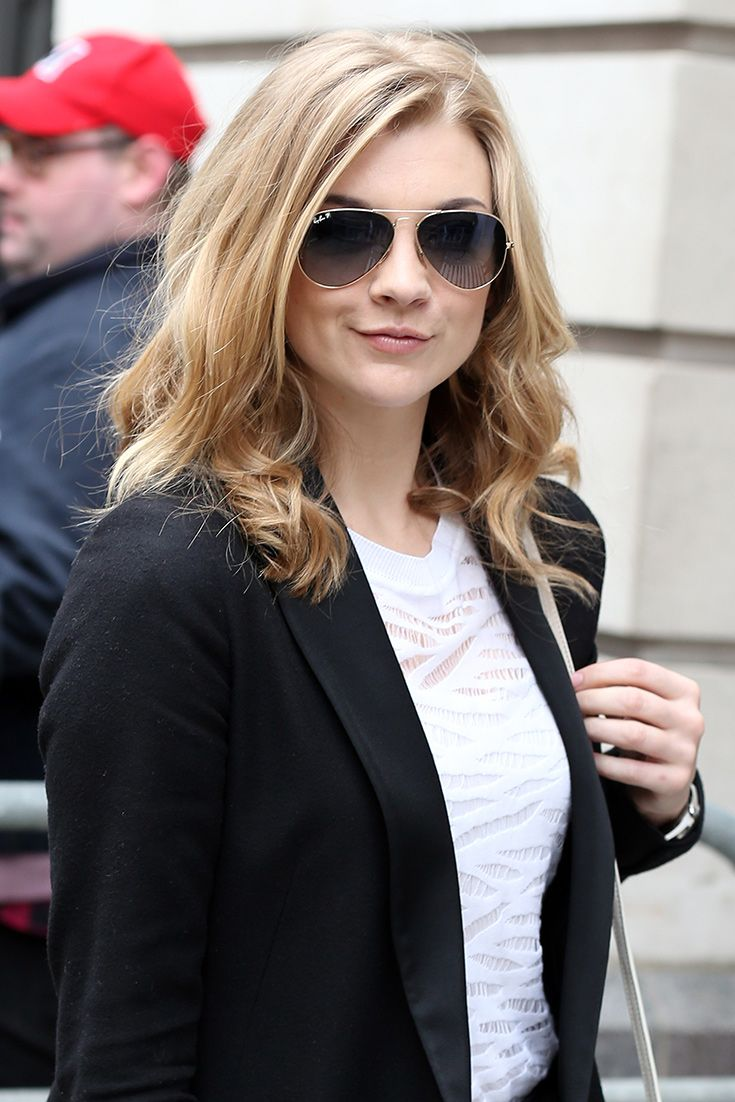 This Natalie Dormer street style shot delivers a slice of workwear wardrobe inspo
