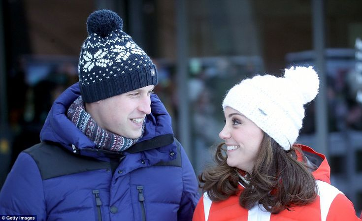 The royal couple are wrapping up their Norway visit atHolmenkollen, where temperatures are around -7 degrees, for a visit to the resort's famous ski jump and museum.