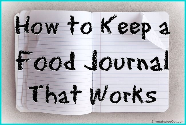 How to Keep A Food Journal That Works #eatingclean #healthy                                                                                                                                                                                 More