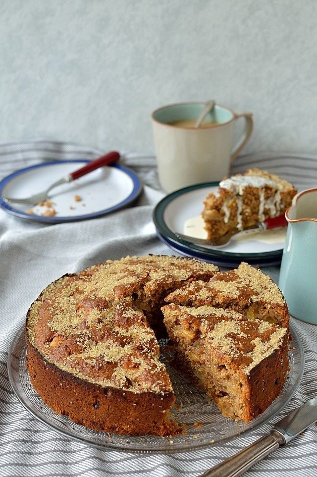 Domestic Goddess . Simple Wholemeal Apple Cake . perfect for using up wonky apples . & . perfect for autumn days . { love food . hate waste } .