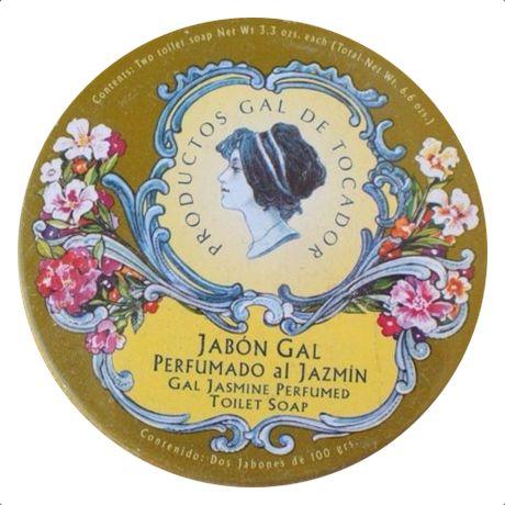 "Gal Jasmine Perfumed Toilet Soap (2 soaps, 3.3oz each), ""Perfumado al Jazmin"". Condition: New / Sealed"